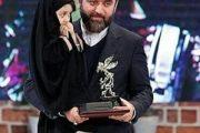 عکس دختر چادری سید محمود رضوی در اختتامیه جشنواره فجر ۹۵