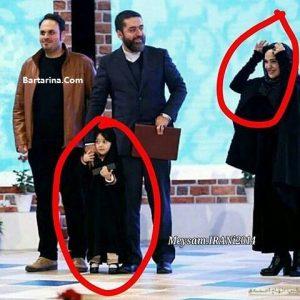 عکس دختر چادری سید محمود رضوی در اختتامیه جشنواره فجر 95