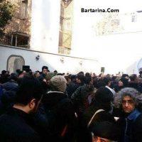 فیلم مراسم تشییع جنازه مرحوم حسن جوهرچی یکشنبه ۱۷ بهمن ۹۵