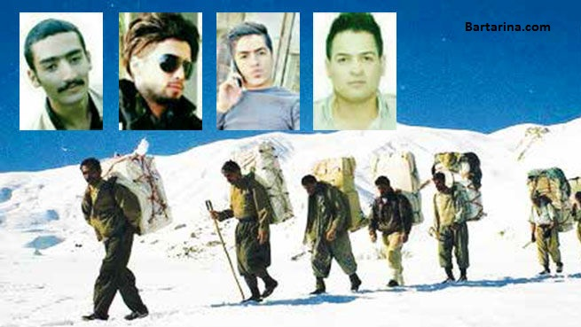 عکس و اسامی کشته شدگان کولبر پیرانشهر + مرگ 5 کولبر جوان