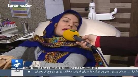 وضعیت حال مهناز افشار بعد از سکته قلبی در بیمارستان + عکس