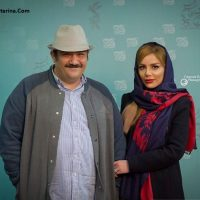 عکس مهران غفوریان و همسرش در جشنواره فیلم فجر ۹۵
