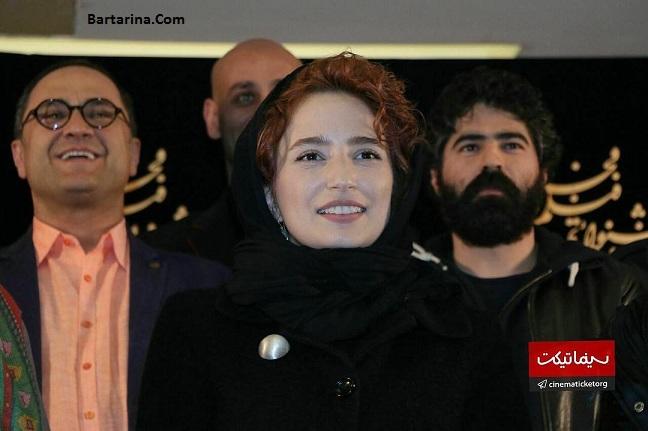 فیلم جنجال در نشست خبری فیلم نگار رامبد جوان جشنواره فجر 95