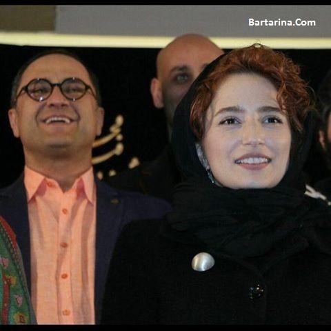 عکس رامبد جوان و همسرش نگار جواهریان در نشست جشنواره فجر 95