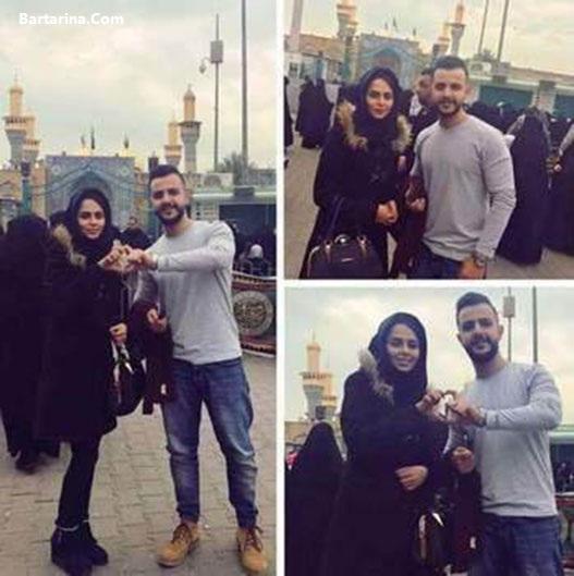 عکس های عروسی شیما قاسم ملکه زیبایی عراق + فیلم ازدواج