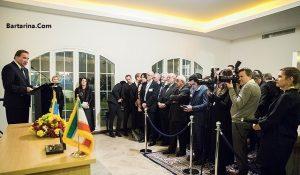 عکس زنان بی حجاب و مقامات در پارتی خانه سفیر سوئد در تهران