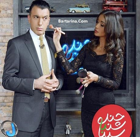 فیلم مصاحبه الناز گلرخ با برنامه چند شنبه با سینا ولی الله