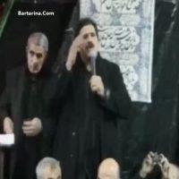 فیلم روضه خوانی عباس جدیدی و گریه کردن در شبکه های اجتماعی