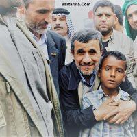 فیلم صحبت های احمدی نژاد در شهر اهواز خوزستان فروردین ۹۶