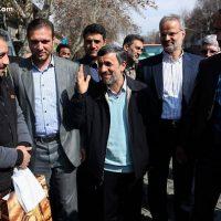 فیلم پیام تصویری احمدی نژاد خطاب به ملت ایران ۱۹ اسفند ۹۵