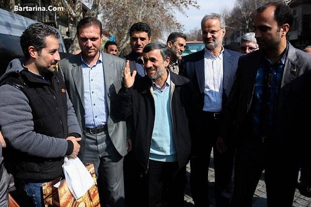 فیلم پیام تصویری احمدی نژاد خطاب به ملت ایران 19 اسفند 95