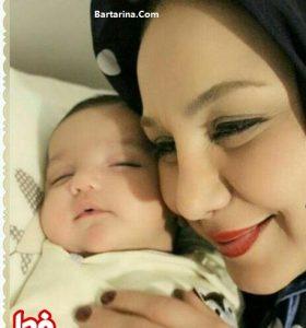 عکس دختر بهنوش بختیاری فرزند جدید بهنوش بختیاری در سال 96