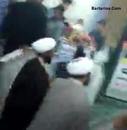 فیلم توهین و حمله دلواپسان به امام جمعه بیرجند در مسجد