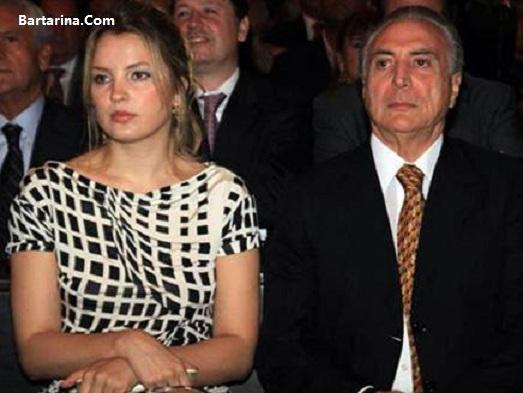 عکس حمله ارواح به مجلس عروسی رئیس جمهور برزیل و همسر زیبایش