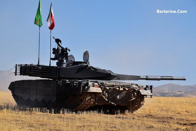 عکس و مشخصات تانک ایرانی کرار امروز 22 اسفند 95 رونمایی شد