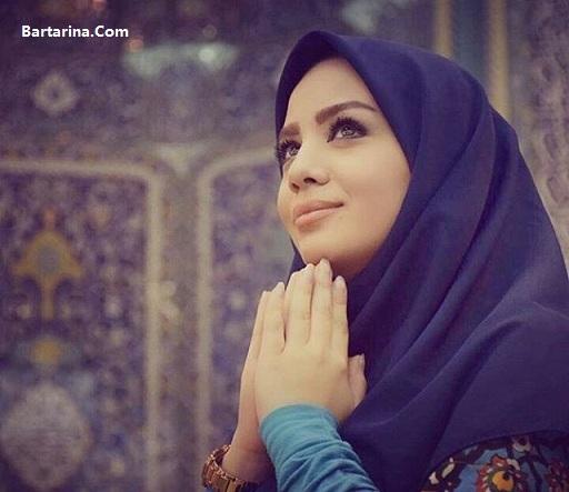 تقدیر از مبینا نصیری مجری در جشنواره مد و لباس فجر + عکس