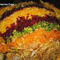 آموزش درست کردن رشته پلو با مرغ غذای چهارشنبه سوری ۹۵