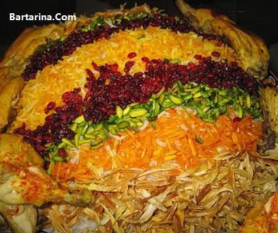 آموزش درست کردن رشته پلو با مرغ غذای چهارشنبه سوری 95