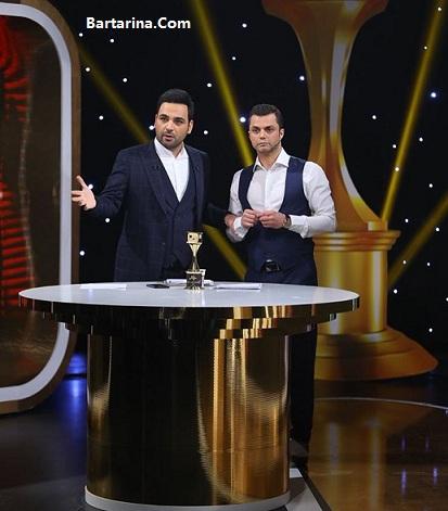 آخرین آمار نتایج مسابقه سه ستاره احسان علیخانی 21 اسفند 95