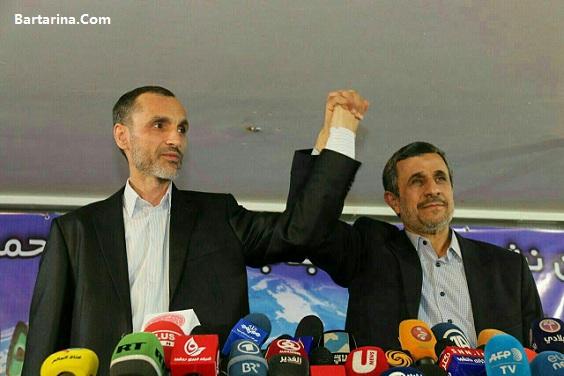 اولین واکنش احمدی نژاد و بقایی به رد صلاحیت از انتخابات 96