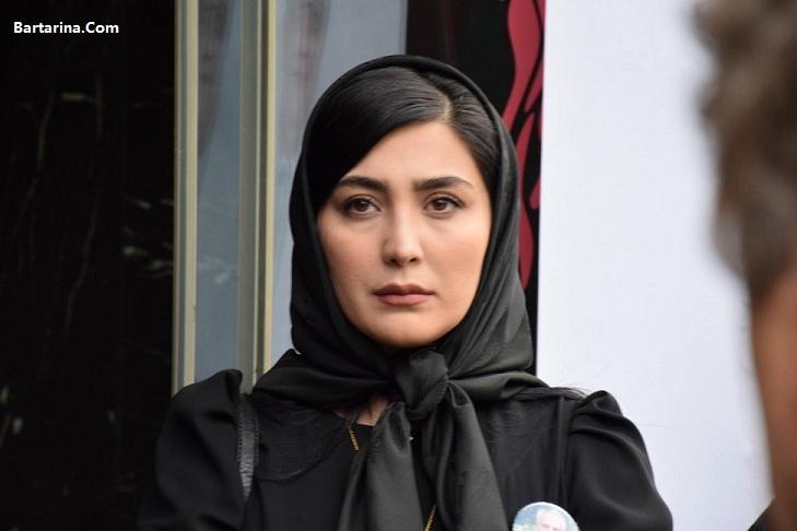 عکس بازیگران زن در مراسم چهلم علی معلم 3 اردیبهشت 96