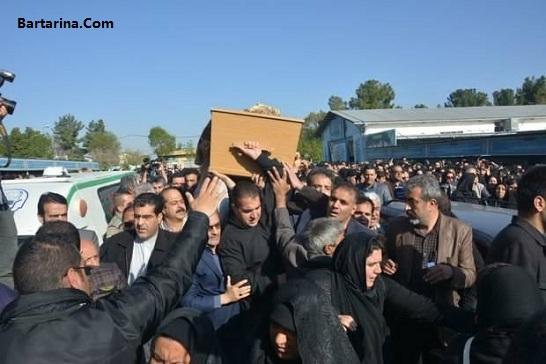 فیلم مراسم تشییع عارف لرستانی در کرمانشاه 28 فروردین 96