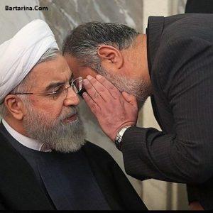 فیلم توهین آشنا مشاور روحانی به کاندایدا با کلمه مثل سگ