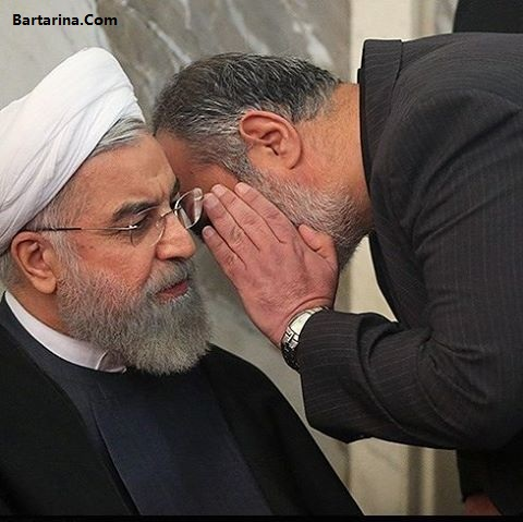 فیلم توهین آشنا مشاور روحانی به کاندیدا با کلمه مثل سگ