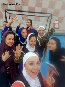 فیلم بازی فوتبال بهنوش بختیاری + گل پنالتی بهنوش بختیاری