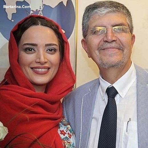 اعتراف بهنوش طباطبایی به طلاق از مهدی پاکدل در روز پدر + عکس
