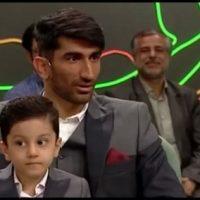 فیلم لری خواندن علیرضا بیرانوند در برنامه خندوانه رامبد جوان