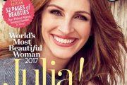 عکس جولیا رابرتز بازیگر معروف زیباترین زن جهان در سال ۲۰۱۷