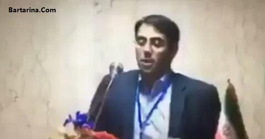 فیلم جمله خبرنگار به احمدی نژاد در نشست خبری 16 فروردین 96
