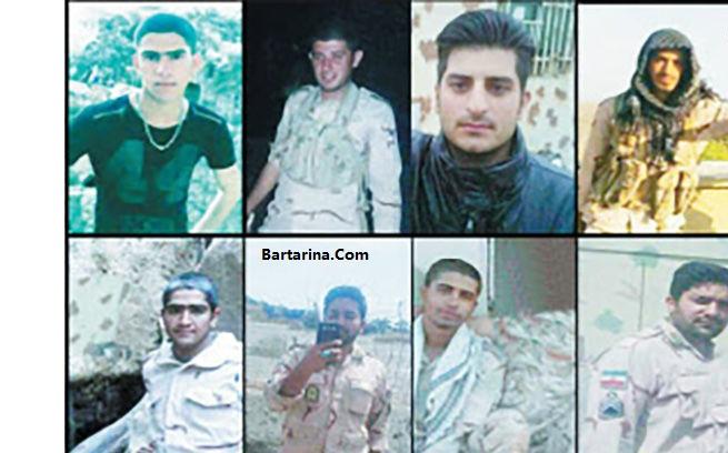 فیلم لحظه شهادت 9 مرزبان میرجاوه توسط گروهک جیش الظلم