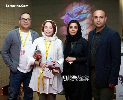 عکس رامبد جوان و همسرش نگار جواهریان جشنواره جهانی فیلم فجر