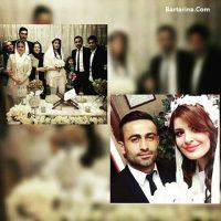 عروسی امید ابراهیمی که باجناق خسرو حیدری شد + عکس ازدواج