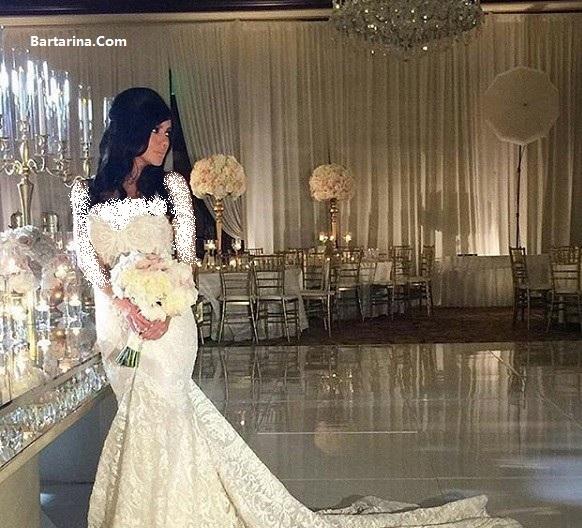 عکس های عروسی پانته آ دختر حمید شب خیز + فیلم