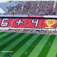 فیلم جشن قهرمانی پرسپولیس در ورزشگاه آزادی ۳۰ فروردین ۹۶