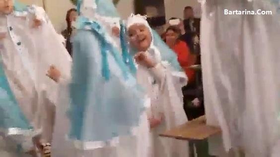 فیلم رقص دختر ها در جشن تکلیف با آهنگ دختر حمید طالب زاده