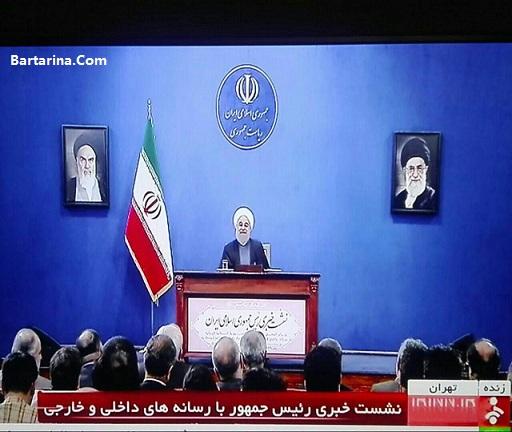 فیلم ماجرای جمله روحانی درباره حل کردن مشکلات در 100 روز