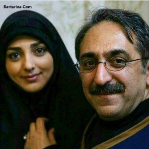 عکس شهرام شکیبا و همسرش ستاره سادات قطبی اختلاف سنی 14 ساله