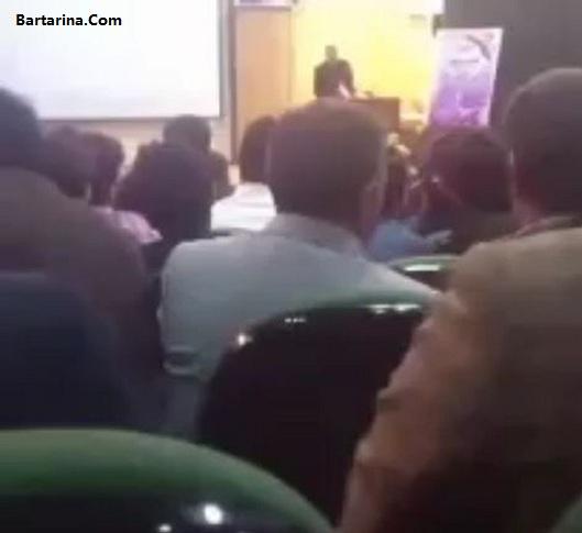 بازداشت مجری توهین کننده به امام رضا در ستاد روحانی در ایلام