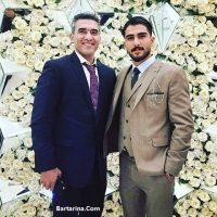 عکس مراسم عروسی نگار عابدزاده دختر احمدرضا عابدزاده + فیلم