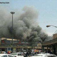 فیلم آتش سوزی در پاساژ رضوان اهواز پنجشنبه ۲۱ اردیبهشت ۹۶