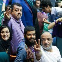 فیلم توهین امیر جعفری به مردم ایران در حمایت از روحانی