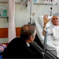 بستری شدن داریوش اسدزاده در بیمارستان لاله تهران ۱ خرداد ۹۶
