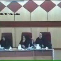 فیلم دعوا و درگیری شدید بین اعضای شورای شهر اهواز