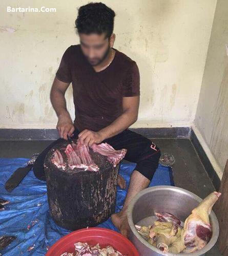 خوردن گوشت سگ در منطقه لشکرآباد اهواز + عکس