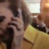 فیلم رای دادن فرح پهلوی سفارت ایران در فرانسه ۲۹ اردیبهشت ۹۶