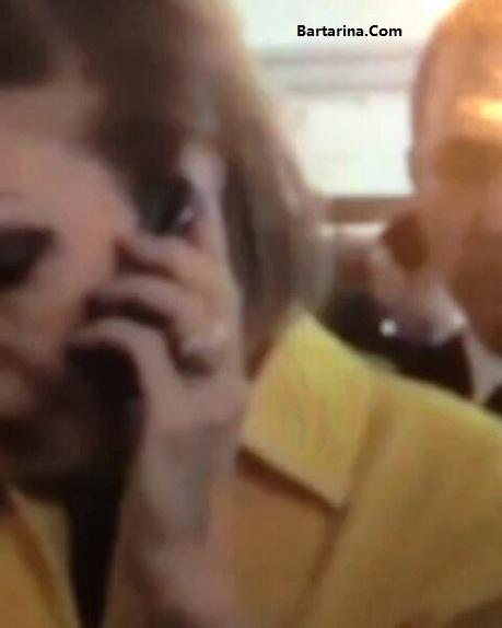 فیلم رای دادن فرح پهلوی سفارت ایران در فرانسه 29 اردیبهشت 96